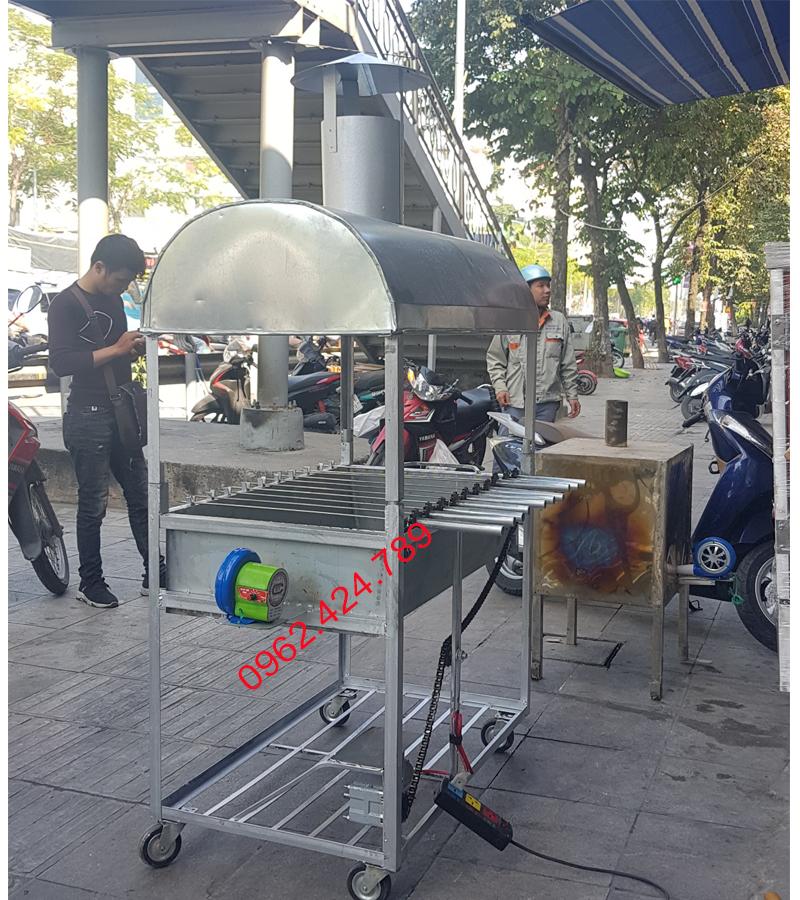 Lò nướng thịt 10 xiên ( tự động)
