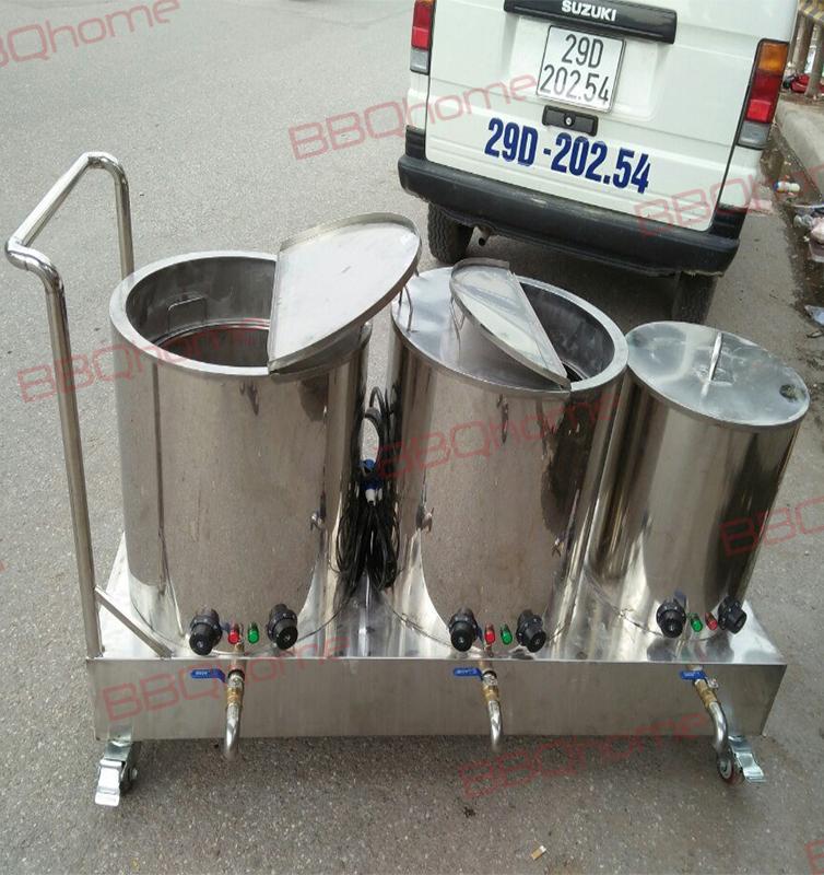 Bộ nồi nấu phở bằng điện 30-50-70 lít