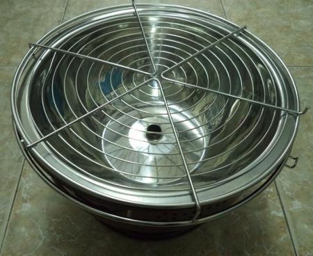 Bếp nướng than hoa giải pháp cho thời bão giá gas tăng