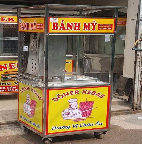 Xe Bánh Mỳ Doner Kebab Thổ Nhĩ Kỳ