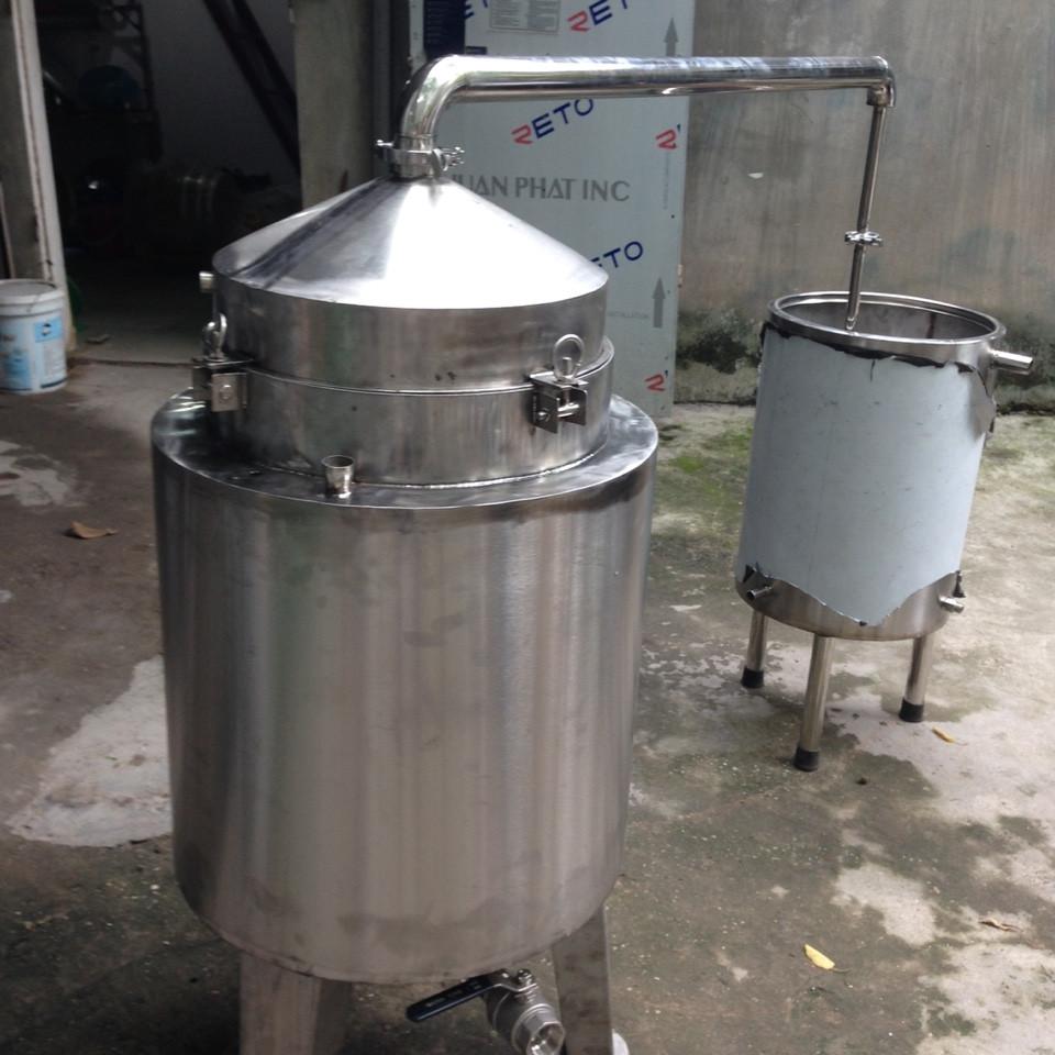 Nồi Nấu Rượu 100 lít ( Nấu 20kg gạo)